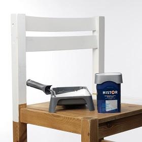Histor Kluswijzer Een stoel schilderen