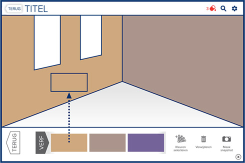 Kies je histor verfkleur kleurinspiratie for Nieuwste kleuren woonkamer